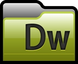 Folder Adobe Dreamweaver 01