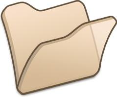 Folder beige