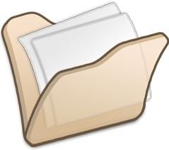 Folder beige mydocuments