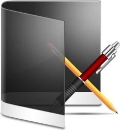 Folder Black Apps