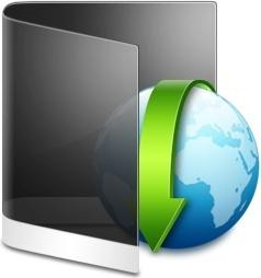 Folder Black Downloads