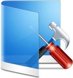 Folder Blue Configure