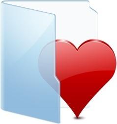 Folder Blue Fav