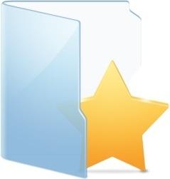 Folder Blue Fav Alt