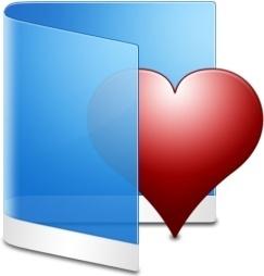 Folder Blue Favorite