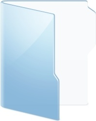 Folder Blue Folder
