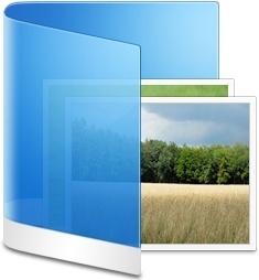 Folder Blue Picture