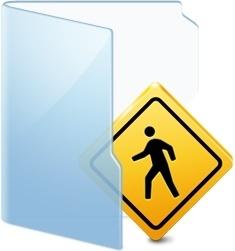 Folder Blue Public
