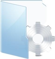 Folder Blue System