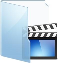 Folder Blue Video