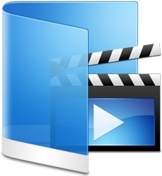 Folder Blue Videos