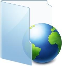 Folder Blue Web
