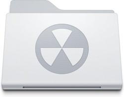 Folder Burnable White
