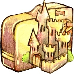 Folder castle