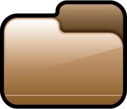 Folder Closed Brown