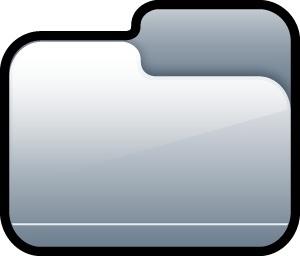 Folder Closed Silver