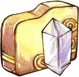 Folder crystal