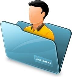 Folder customer