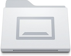 Folder Desktop White