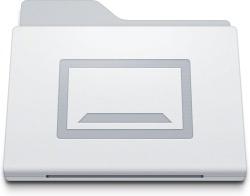 Folder Desktop White