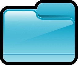 Folder Generic Blue