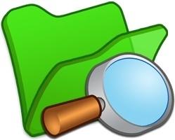 Folder green explorer