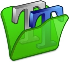 Folder green font2