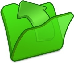 Folder green parent