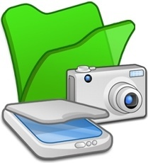 Folder green scanners cameras