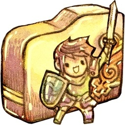 Folder hero