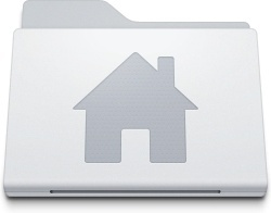 Folder Home Alternate White
