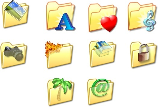 Folder Icon Set icons pack