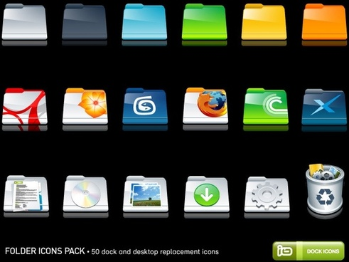 Folder Icons Pack icons pack
