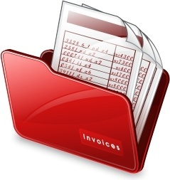 Folder invoices