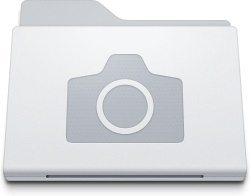 Folder Pictures White