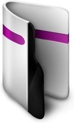 Folder Purple