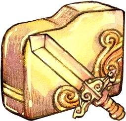Folder sword