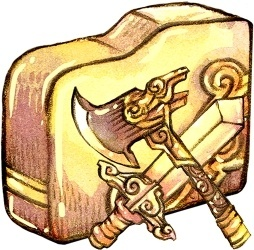 Folder swordaxe