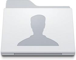 Folder Users White