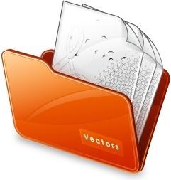 Folder vectors