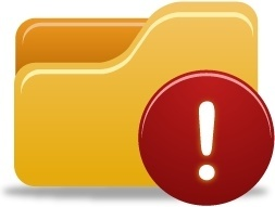 Folder Warning