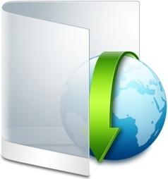 Folder White Downloads