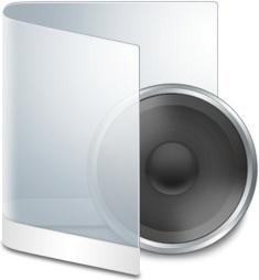 Folder White Music