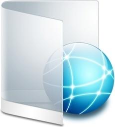 Folder White Network