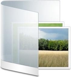 Folder White Picture