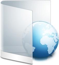 Folder White Web