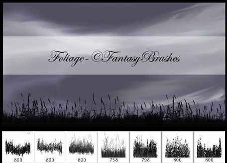 Foliage-Fantasy Brushes