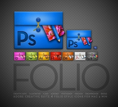 Folios icons pack