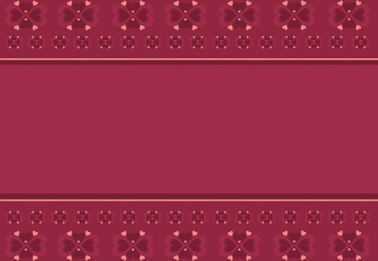 folk heart pattern background