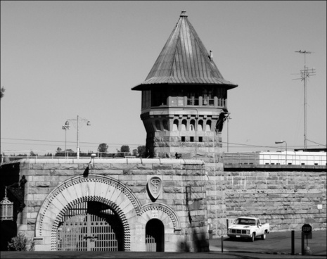 folsom prison east gate